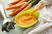 Baby food; Carrot Puree
